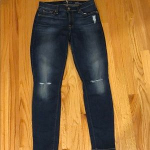 7 for all Mankind Ankle Jean